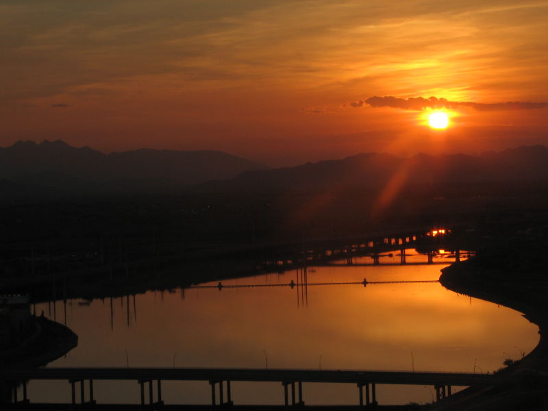 Tempe Lake Sunrise