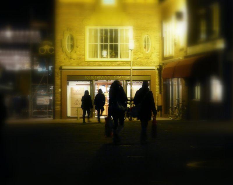 street, night