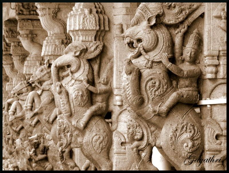 Arthanareeswarar temple, Tiruchengode, India அர்த்