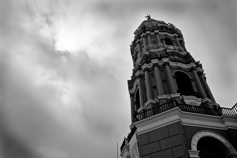 Torre de la capilla Santo Domingo