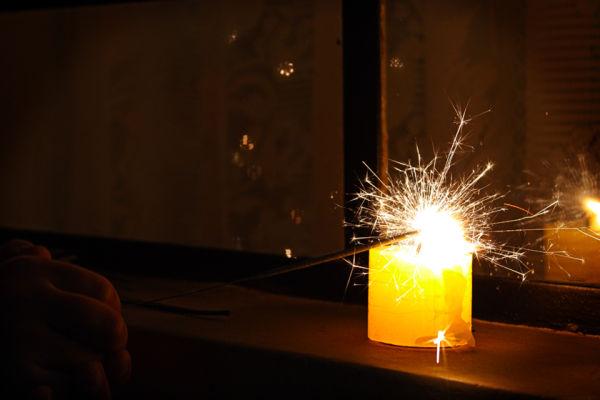 Luz de bengala
