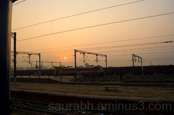 Sunrise, Gorakhpur