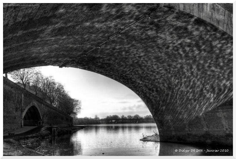 Sous les ponts ....