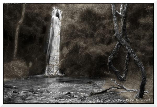 La cascade .....