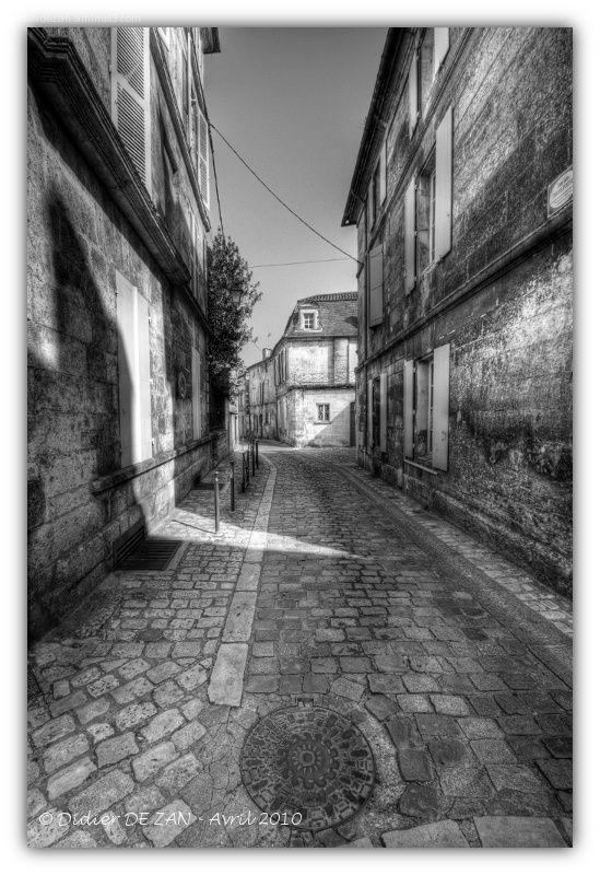 Dans la rue....