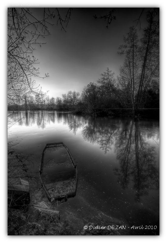 Au bord de la Charente ....