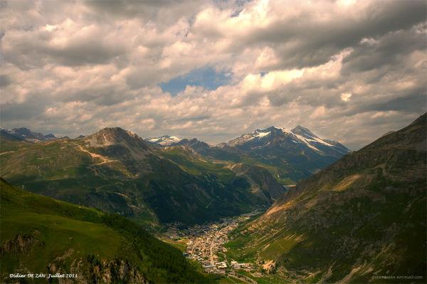 Là-bas.. dans la vallée ...