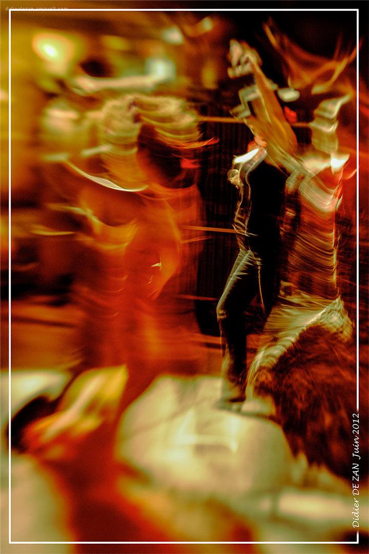 Dancing in the street ....