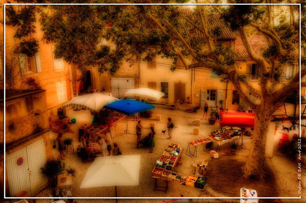 Marché de Provence .....