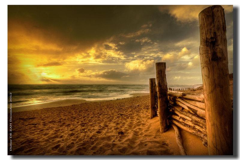 On the Beach ....