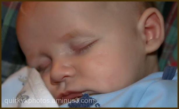 My Sleeping little guy!