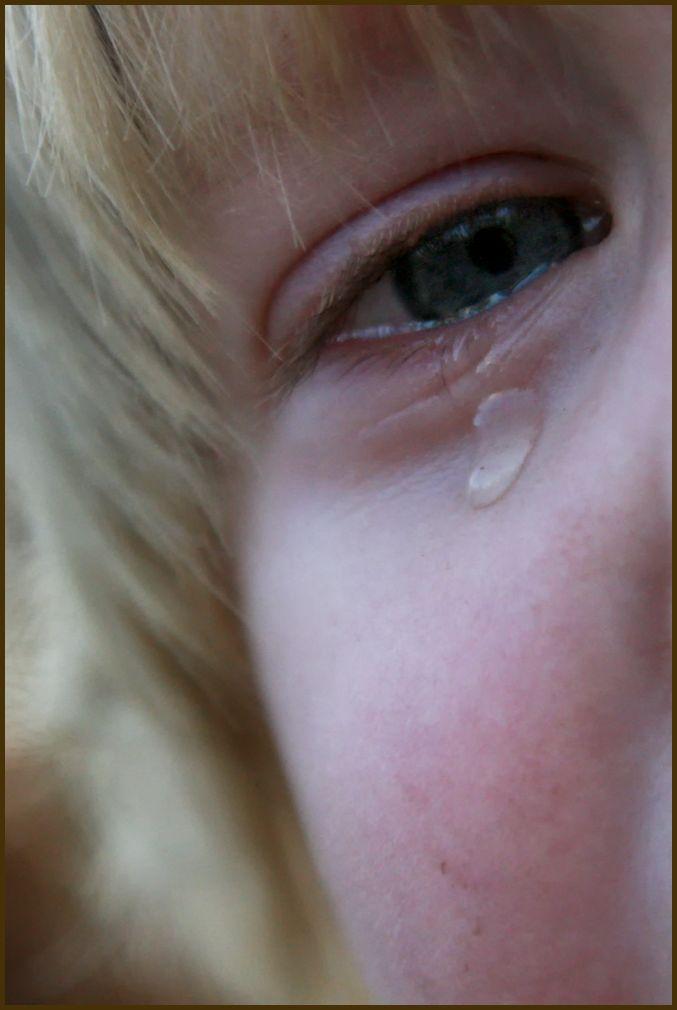 true sadness captured