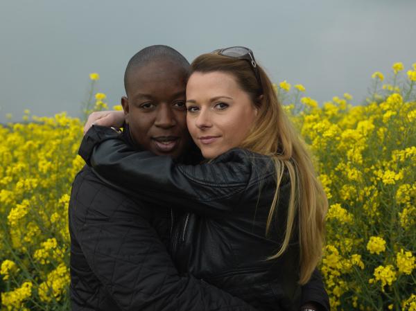 field black white relationship