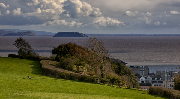Bristol Channel Barry area South Wales