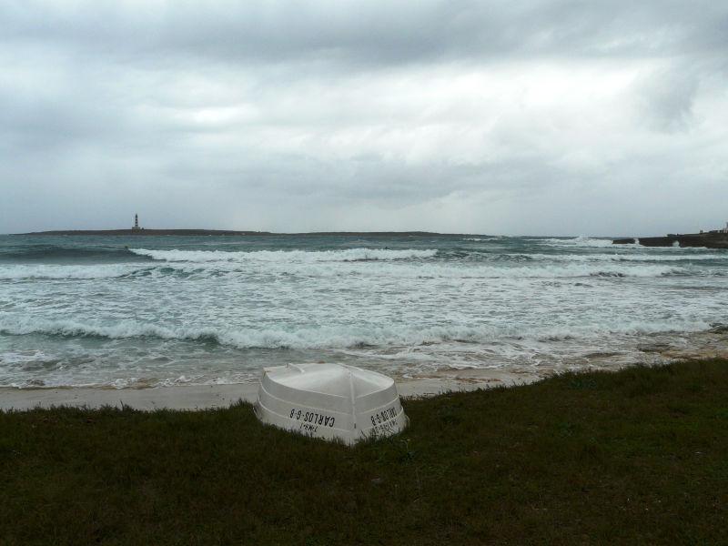 Paisaje de Punta Prima en Menorca