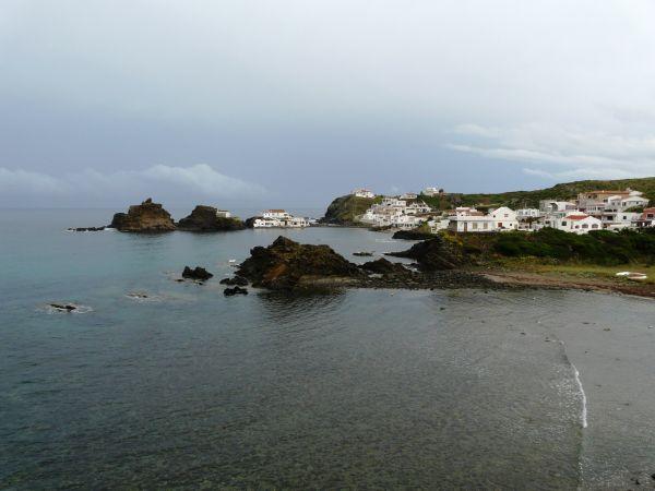 Pueblo de pescadores de Sa Mesquida, Menorca