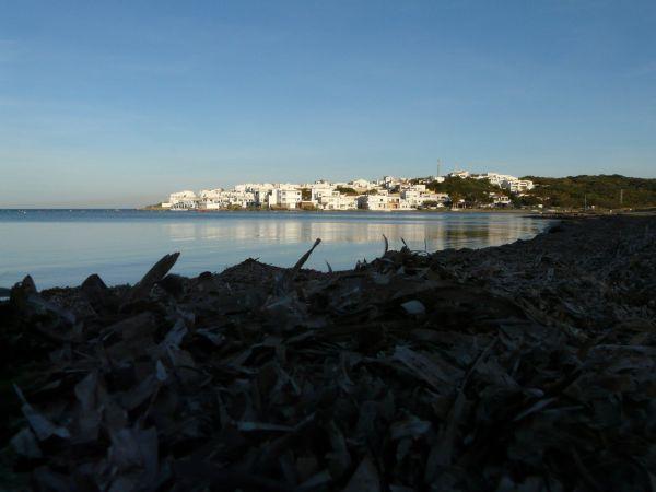 Pueblo de pescadores de Es Grao en Menorca