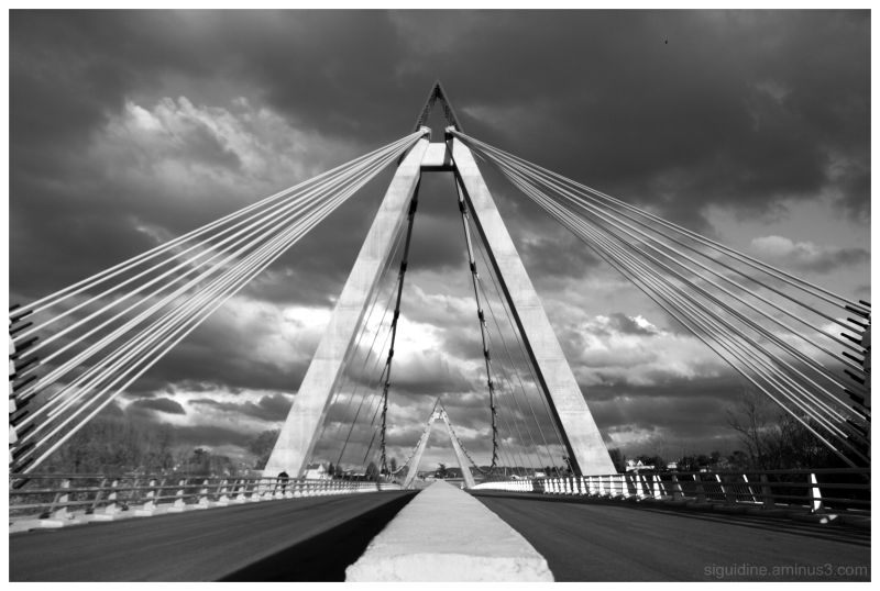 Le pont sur la Loire - Andrézieux-Bouthéon