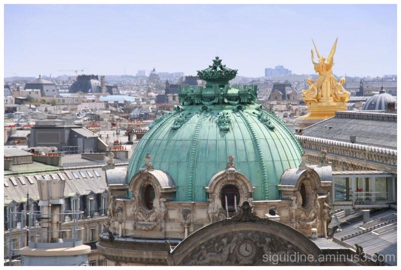 Toits de Paris - Opéra Garnier