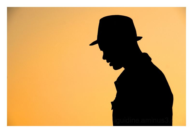 the man with the hat