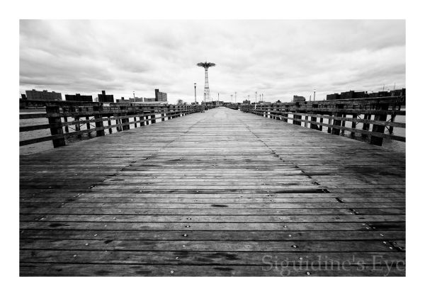 Coney Island Pier, Brooklyn, New York City