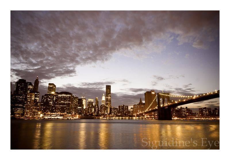 New York City, Manhattan skyline
