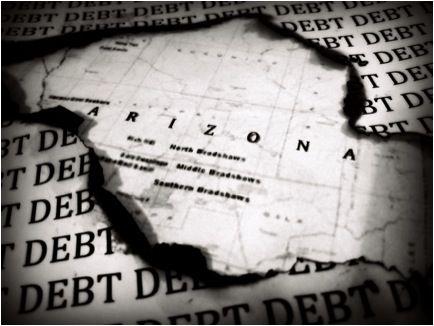 Arizona in debt