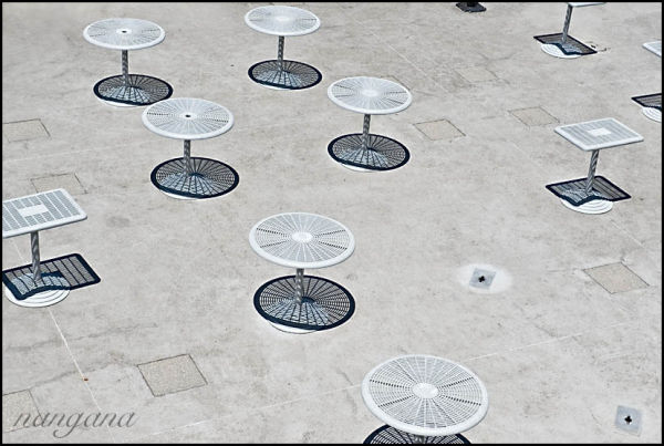 tables, shadows