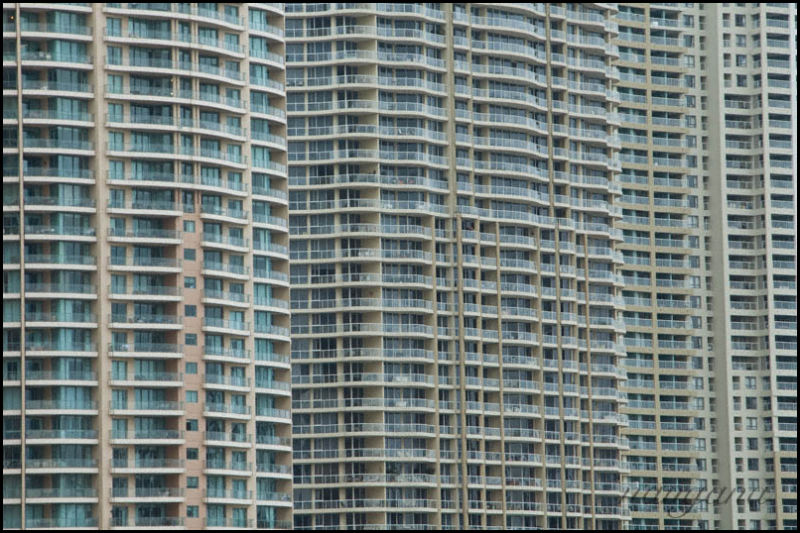 high density living high rise buildings
