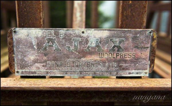 ajax wool press