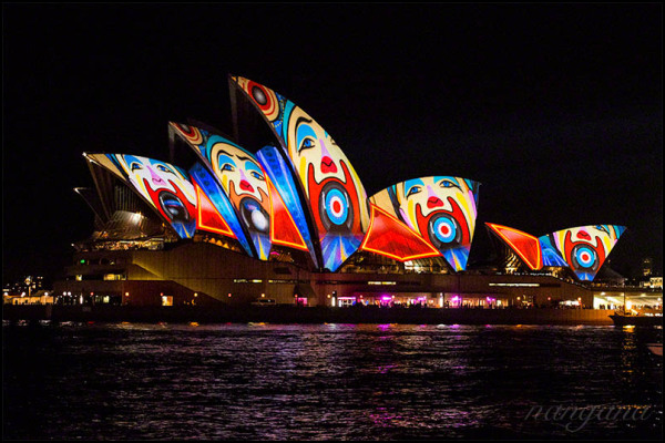 opera house - vivid sydney