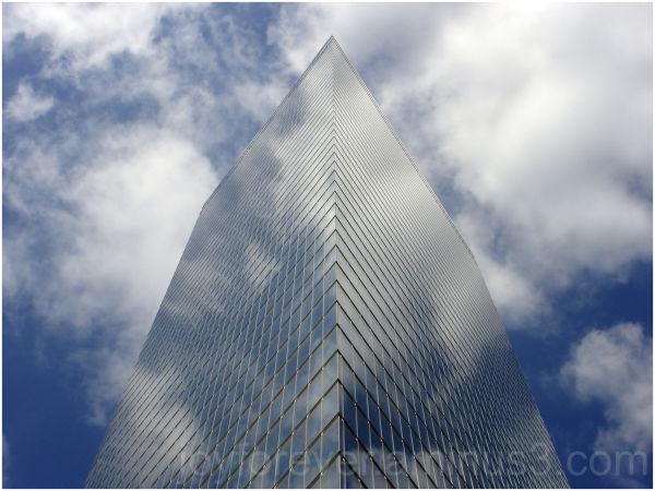 glass skyscraper New York City