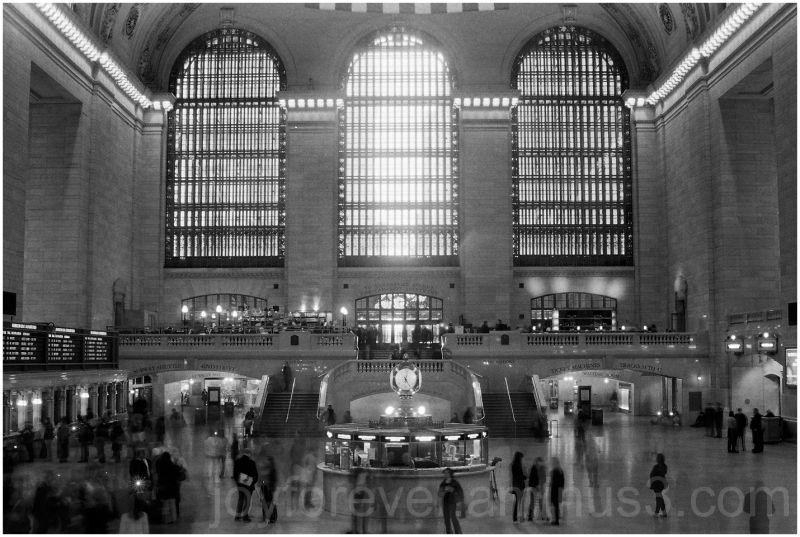 Grand Central Railway Station New York City