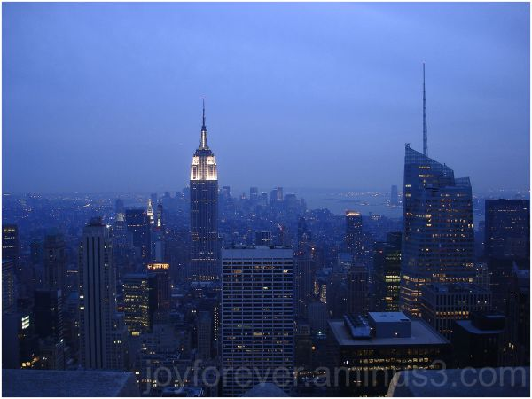 New York NYC Rockefeller EmpireState Manhattan