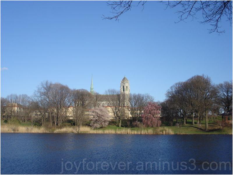 Branch Brook Park Newark lake church spring