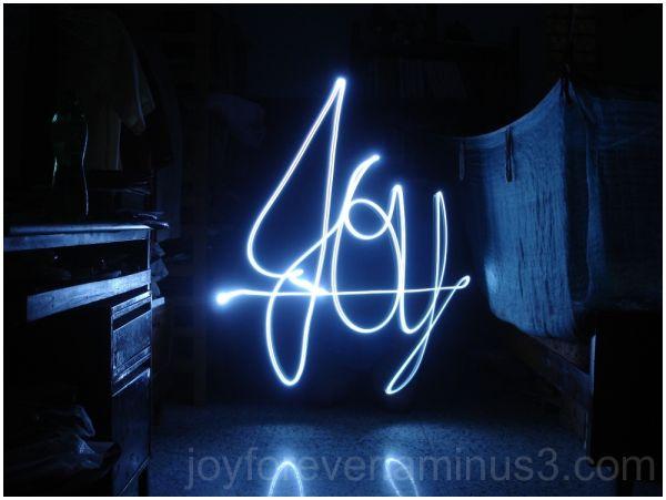 light Joy silly