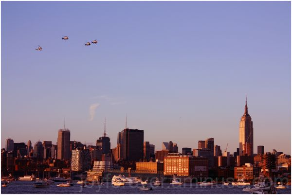 Independence day celebrations new york helicopters