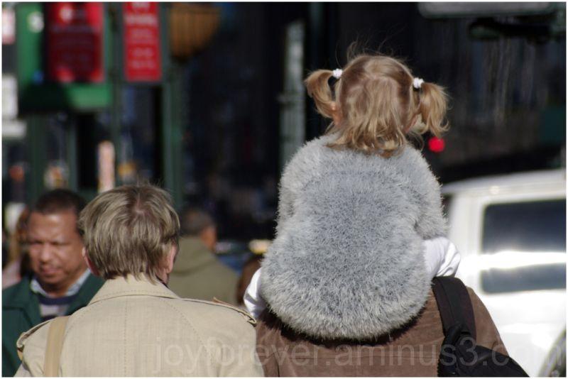 child kid infant toddler ride new-york-city