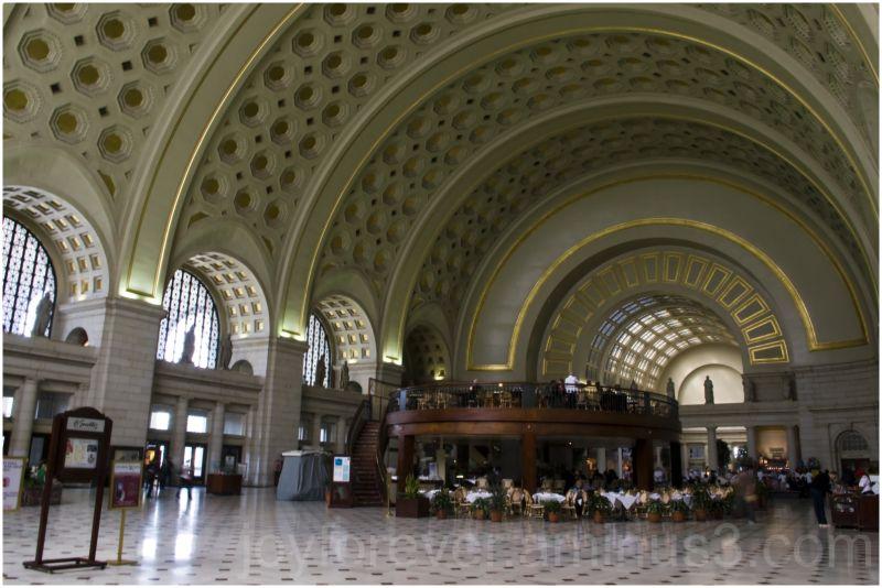 Washington-DC railway station union architecture