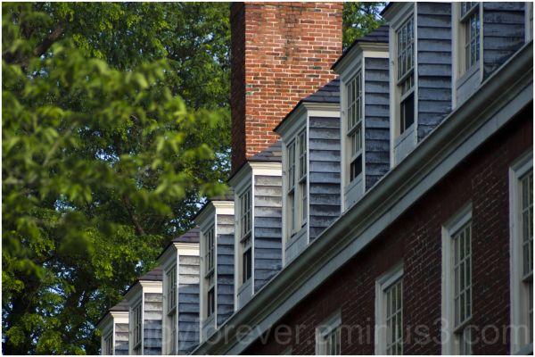 Windows attic telephoto pattern harvard cambridge