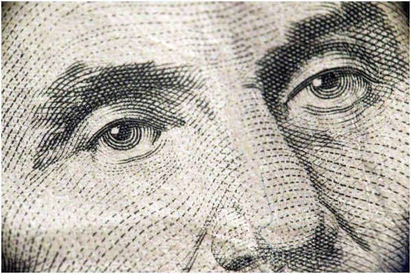 USA Dollar macro Abraham Lincoln eyes