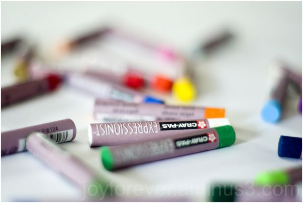 India Independence-day tricolour crayon still-life