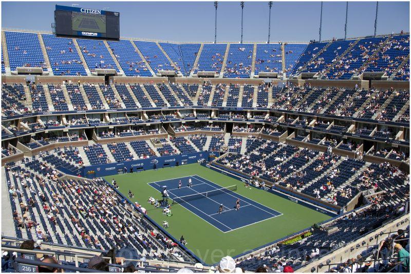 US-Open Tennis Arthur-Ashe-Stadium New-York