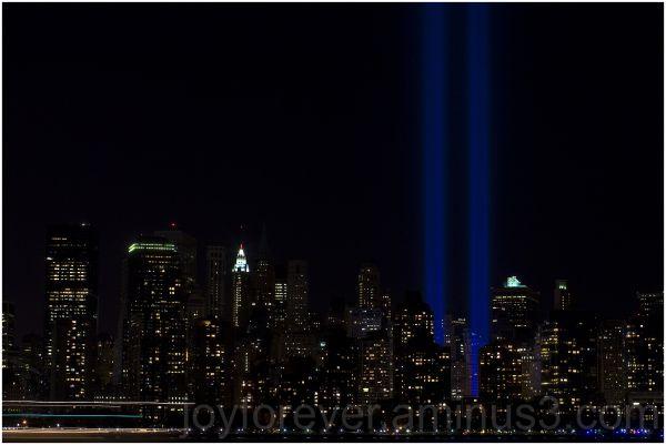 ground-zero WTC9-11 new-york-city manhattan lights