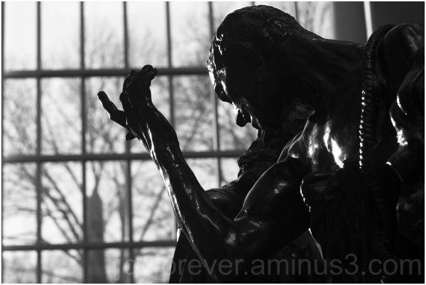 burghers-of-calais Rodin sculpture statue met-art