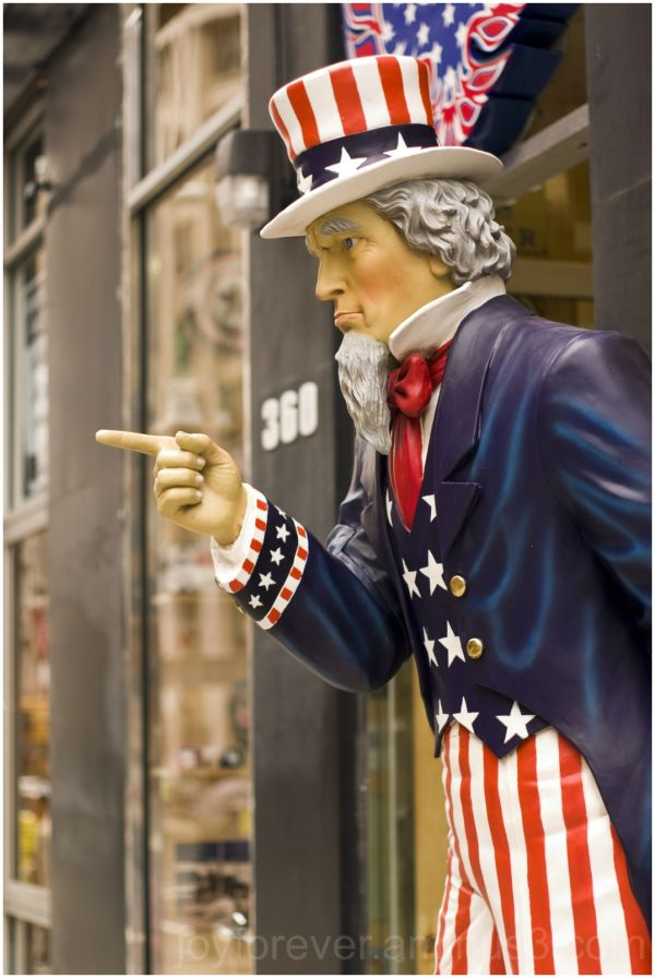 uncle-sam new-york-city USA America store-display