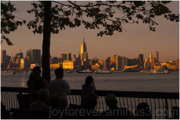 independence-day skyline new-york Hoboken hudson