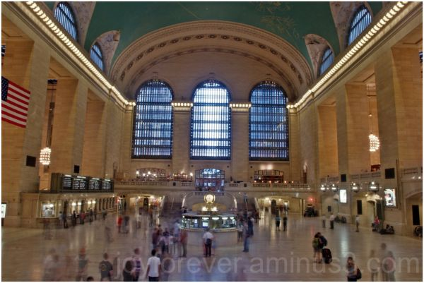 Grand-Central Railway-Station New-York-City HDR