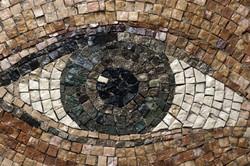 eye mosaic subway station metro New-York-City art