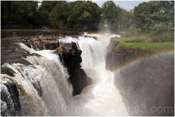 Paterson Great-Falls Passaic river waterfall NJ